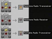 Redstone Radio - беспроводное соединение [beta 1.7.3]