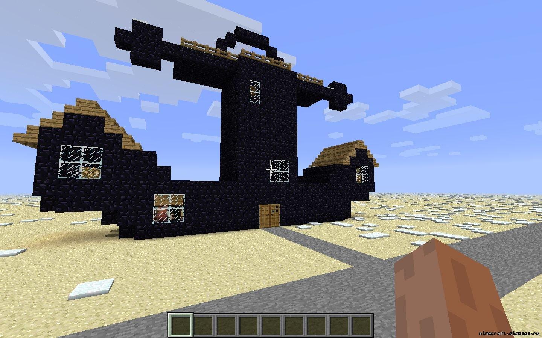 Построить дом сквидварда майнкрафт