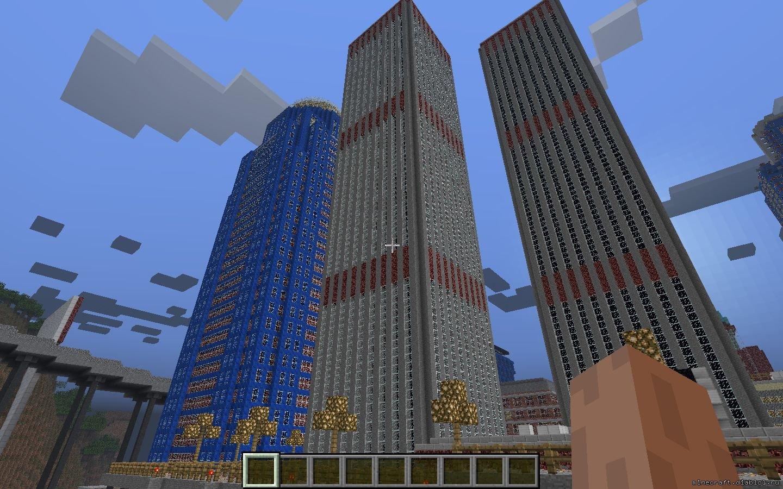 скачать карту для майнкрафт 1.7.10 город нью йорк #2