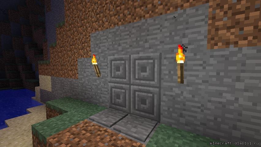 как создать двери для