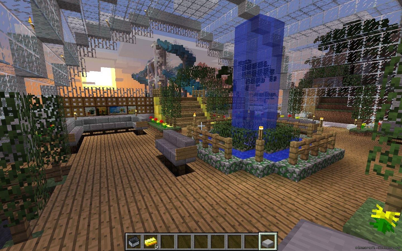 Как сделать свой остров в minecraft 695