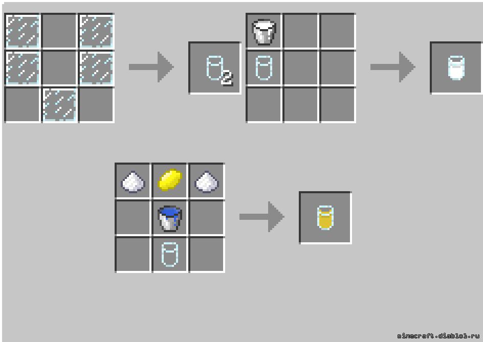 Как сделать в майнкрафте стекло смотреть