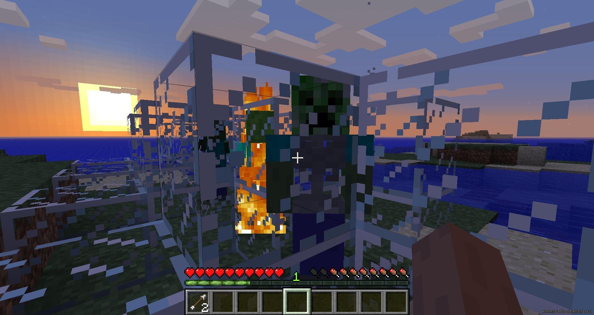 Как сделать спавнер овец в minecraft