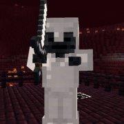Cкелет Иссушитель (Wither Skeleton): описание, ID, скриншоты и др.