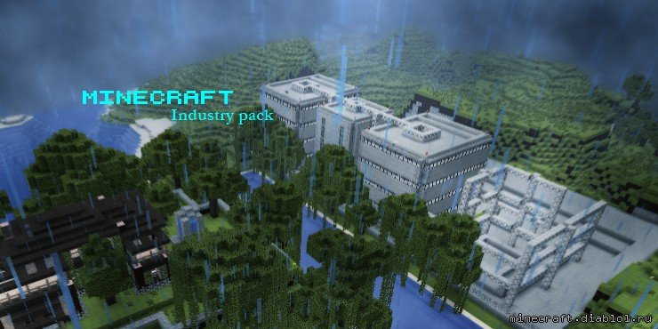 Minecraft - Industry pack